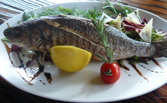 Готовим рыбу на гриле