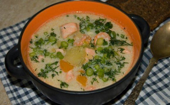 Дома я готовлю этот суп