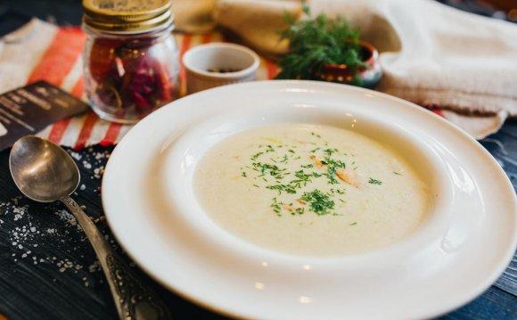 Сливочный суп с лососем рецепт